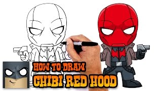 How to Draw Red Hood | DC Comics