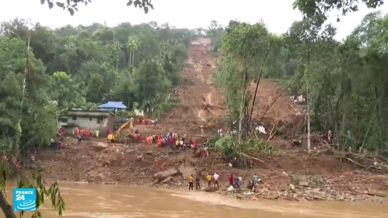 الهند.. أمطار وفيضانات وانجرافات أرضية تودي بحياة العشرات والجيش يجلي الآلاف  - نشر قبل 1 ساعة