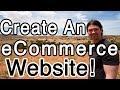How to Create an ECOMMERCE Website with