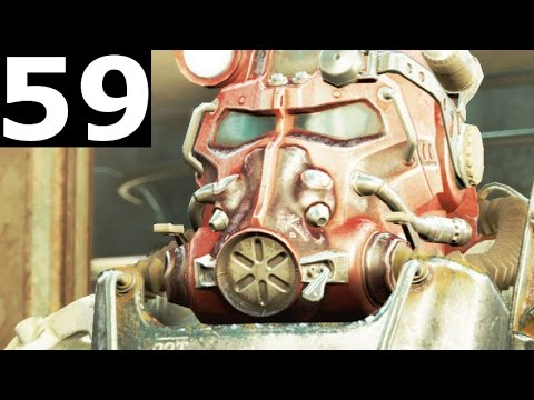 Fallout 4 Walkthrough Gameplay Part 59 - Clearing Out Faneuil Hall