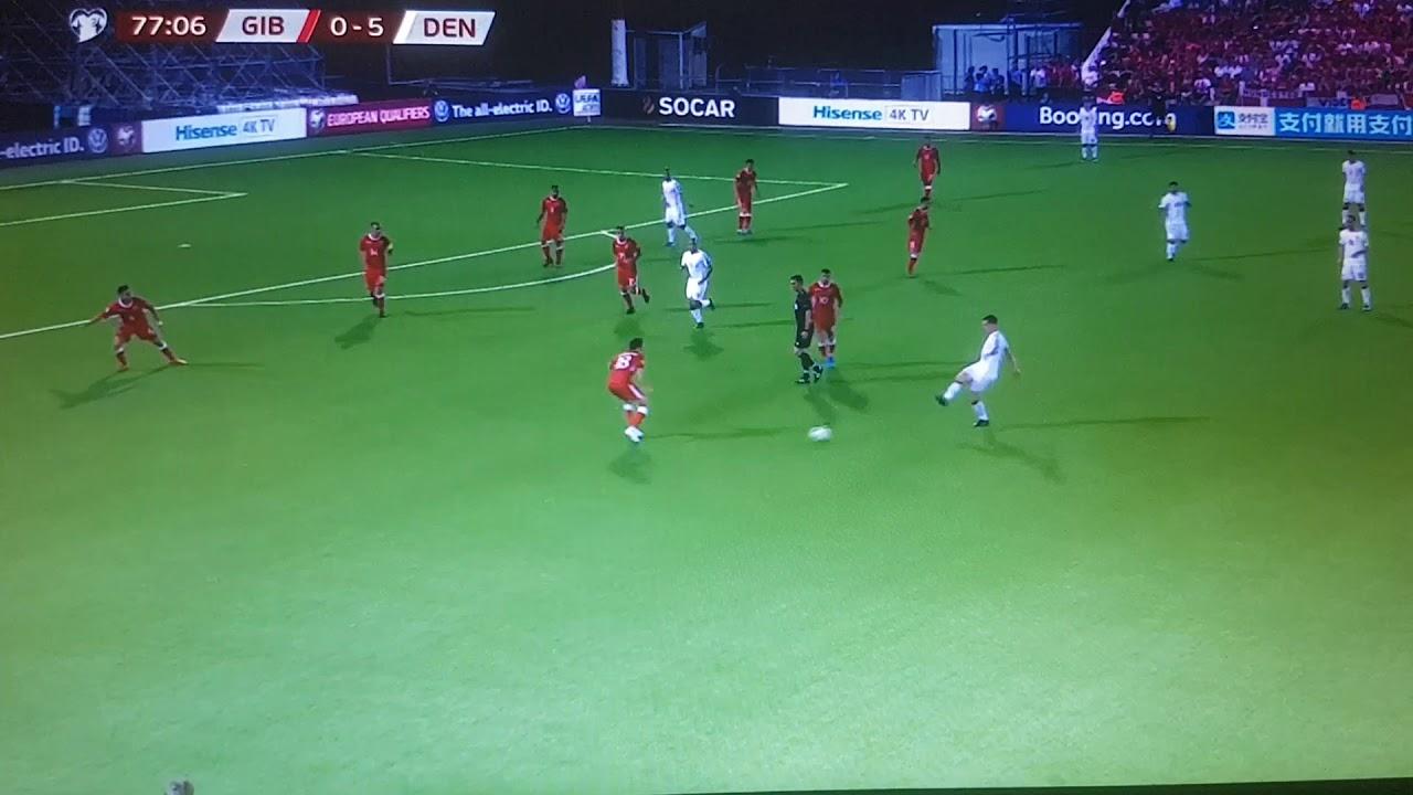 """Résultat de recherche d'images pour """"Gibraltar 0:6 Denmark"""""""
