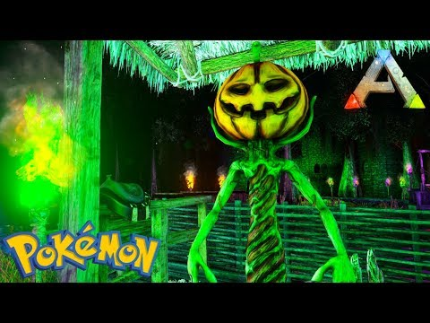 HAUNTED MANSION & TOWN TOUR + LITWICK HUNTING CHALLENGE -S2 EP3 POKEMON ALLSTARS (Ark Gameplay)