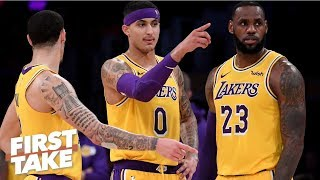 LeBron saying young Lakers have 'unfair expectations' worse than an excuse - Stephen A. | First Take