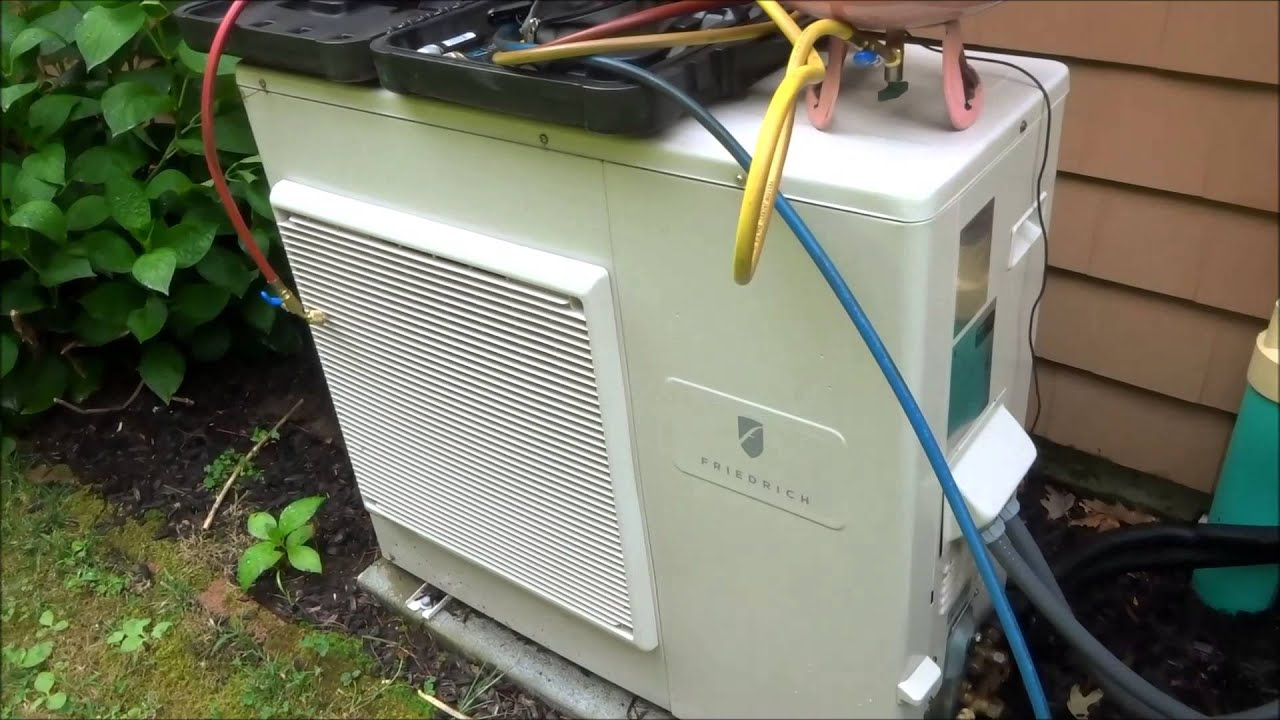 Hvacfriedrich Mini Split With Ceiling Unit Not Cooling Youtube Sanyo Air Conditioner Wiring Diagram