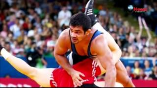 Wrestler Sushil Kumar wins India