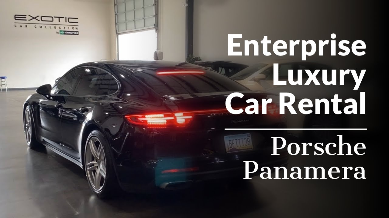 Enterprise Exotic And Luxury Car Rental Review Youtube