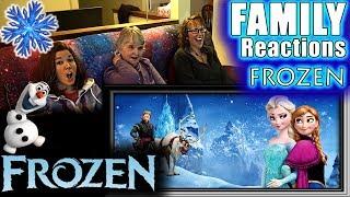 FROZEN | FAMILY Reactions | Fair Use