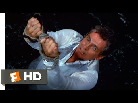 Licence to Kill (2/10) Movie CLIP - Fed to the Sharks (1989) HD