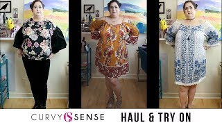 CURVY SENSE HAUL & TRY ON | Plus Size Fashion - First Time Shopping!