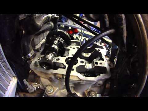 KTM 350 Valve Adjustment And Camshaft Swap