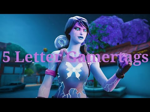 Clean OG 5 Letter Fortnite Gamertags Not Taken 2019 (Xbox/PS4) Pt 8