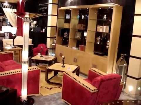 canap de luxe art d co paris mobilier art d co paris dubai washington youtube. Black Bedroom Furniture Sets. Home Design Ideas
