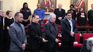 Maori Remains Repatriation Ceremony at the University of Birmingham