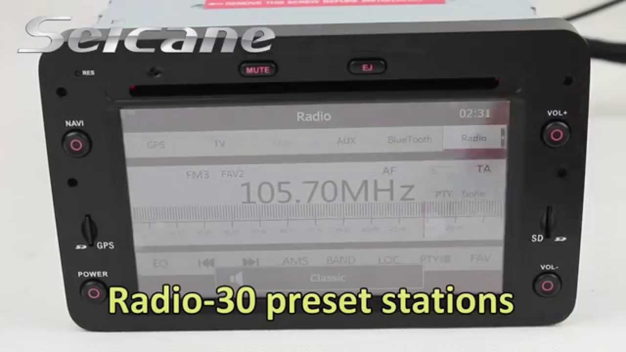 Original Stereo Removal Upgrade to Alfa Romeo 159 GPS Radio Audio System with USB Ipod MP3  YouTube