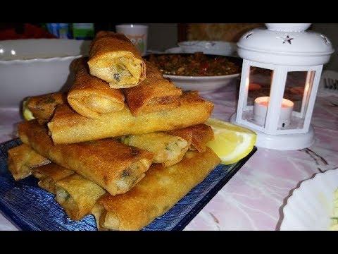 bourek-aux-épinards-(blettes)-بوراك-بالسلق--بوراك-بالسبانخ