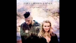 Zara Larsson & Mnek Never Forget You Official Audio