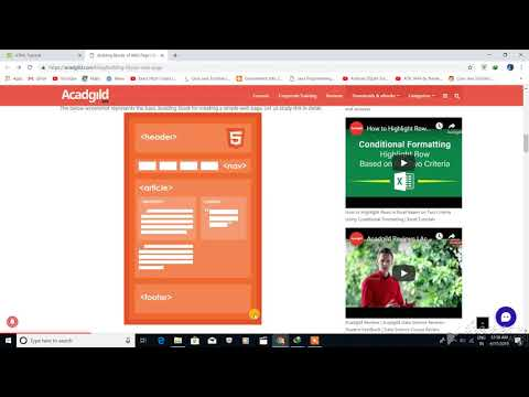 HTML Tutorial 2 - Complete Website Development from scratch thumbnail