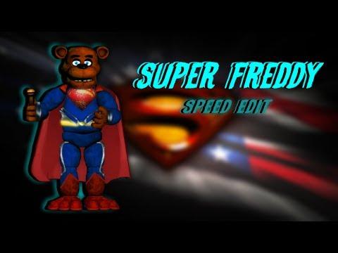 FNAF/DC Comics SpeedEdit - Super Freddy? (720p HD)