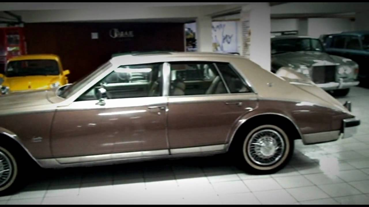 My Car Collection 1981 Cadillac Seville Youtube