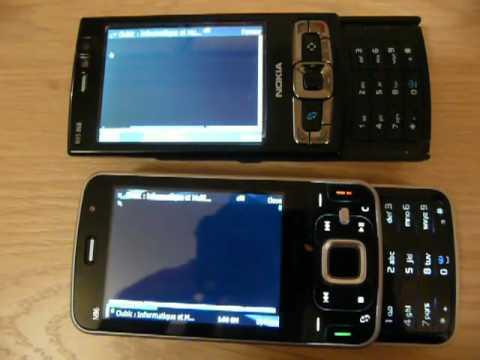 Test Nokia N96 : N96 vs N95 8Go