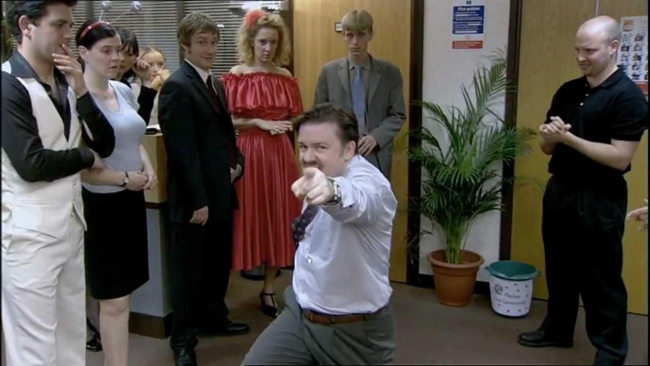 david brent office dance
