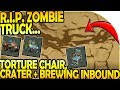 TORTURE CHAIR (RIP ZOMBIE TRUCK) + CRATER + BREWING INBOUND- Last Day On Earth Survival Update 1.9.4