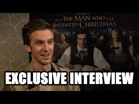 The Man Who Invented Christmas - Dan Stevens Exclusive Interview