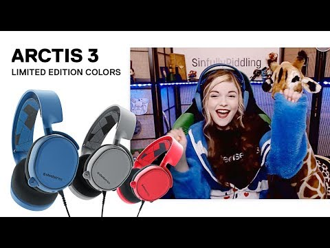 Make a Splash - Arctis 3 Colors Gaming Headset Now Available