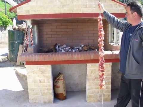 HOW TO BUILD A BBQ / ΚΑΤΑΣΚΕΥΗ ΨΗΣΤΑΡΙΑΣ