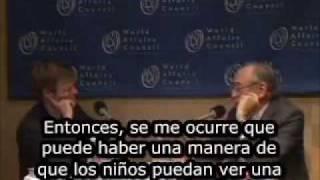 Alvin Toffler Sobre Educacion (Subtitulado)