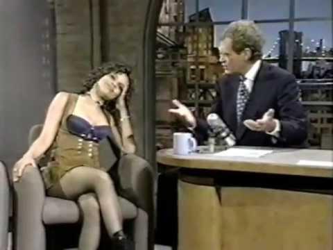 Rosie Perez on Late Show (1993)