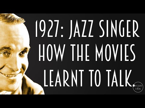 1927: How The Jazz Singer Killed The Silent Film.