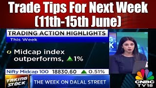 Trade Tips For Next Week (11th-15th June) | Taking Stock | CNBC TV18