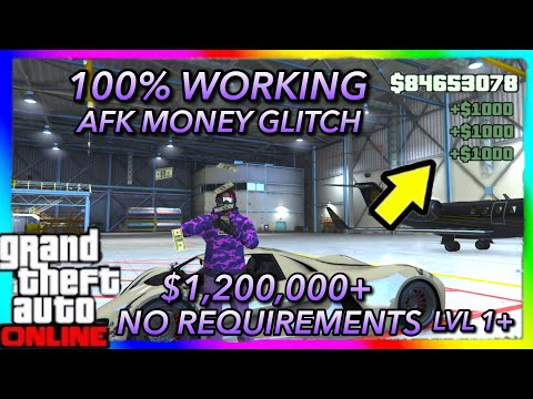 *WORKING RIGHT NOW!* *AFK!* GTA 5 ONLINE MONEY GLITCH *VERY EASY* No Requirements (PS4/XB1/PC) 1.46 thumbnail