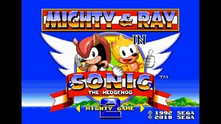 Sonic Hack Longplay - Mighty & Ray in Sonic 2