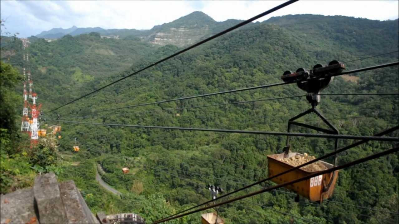 亞泥流籠(1).wmv 東獅頭山頂可以看到 - YouTube
