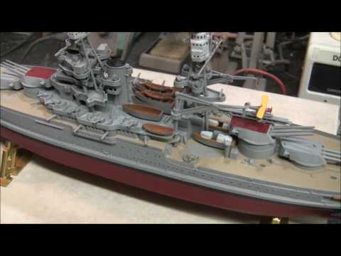 Revell U.S.S. Arizona Model Shop Community 48 Hour Group Build Finished