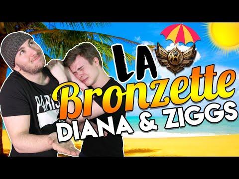 Vidéo d'Alderiate : LA BRONZETTE - DIANA ATTACK SPEED & ZIGGS AUTO ATTACK