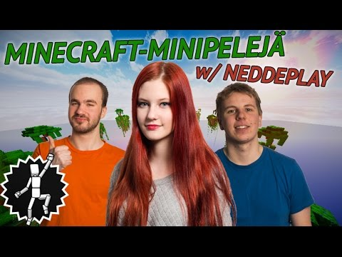 MINIPELEJÄ w/ neddeplay   Minecraft