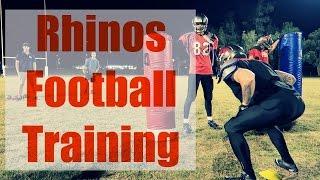 Brisbane Rhinos Football Training