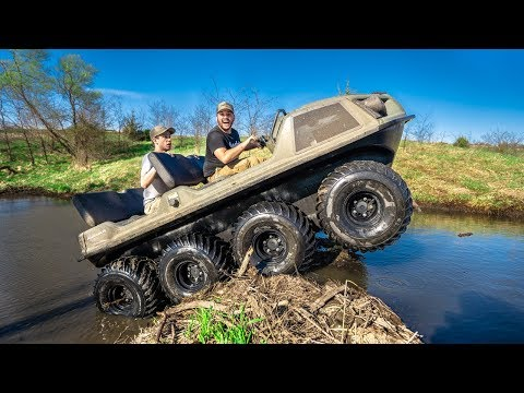 DESTROYING The Beaver Dam With My TANK!!!! (EPIC)