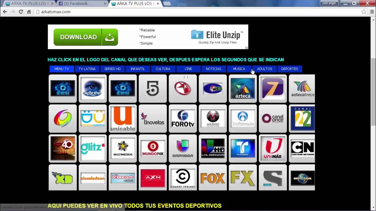 tv gratis sin paga por internet - YouTube
