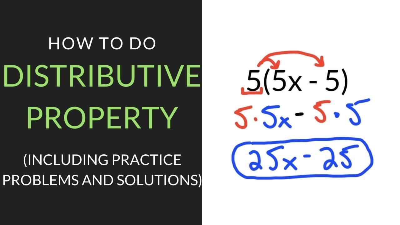 Distributive Property Worksheet: Free Download   Mathcation [ 720 x 1280 Pixel ]