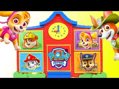 HELP Paw Patrol Skye Find Chase at Latch & Learn School Playset Biggest Colors Counting