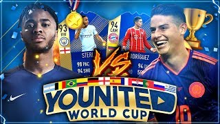 FIFA 18: YOUnited WORLD CUP Gruppenspiel #2 vs RealFIFA 🇨🇴🇬🇧