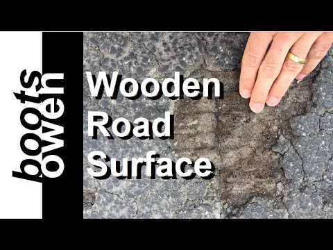 Wood Paved Road Spear Street Manchester