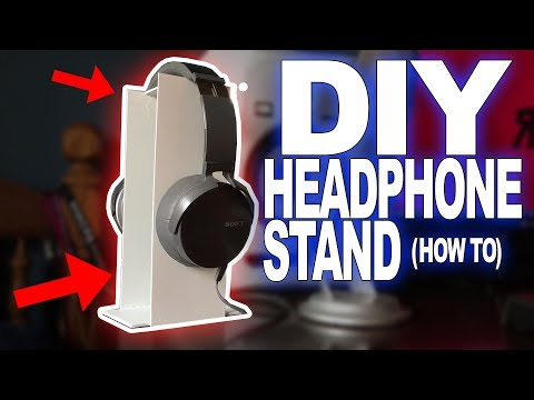 DIY Headphone Stand! (How To)