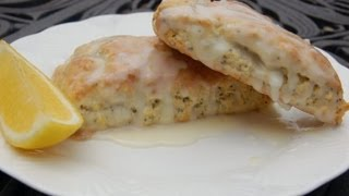 Breakfast Recipe: Lemon Poppyseed Scones By Cookingforbimbos.com