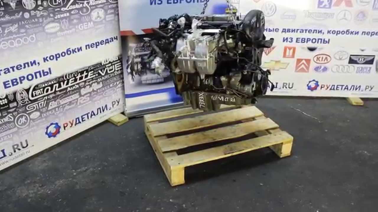 Тестированный бу двигатель OPEL VECTRA ASTRA 1.6i 16V X16XEL контрактный из Германии - HD