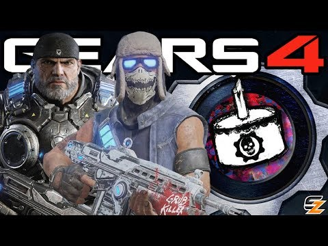 Gears of War 4 - One Year Anniversary, Carmine Craftable, New Surprises & More!